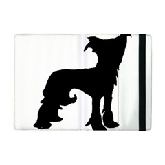Chinese Crested Silo Black iPad Mini 2 Flip Cases