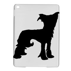 Chinese Crested Silo Black iPad Air 2 Hardshell Cases