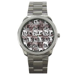 Comic book  Sport Metal Watch
