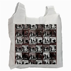 Comic book  Recycle Bag (One Side)