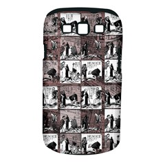 Comic book  Samsung Galaxy S III Classic Hardshell Case (PC+Silicone)