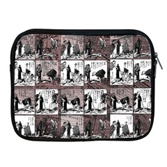 Comic Book  Apple Ipad 2/3/4 Zipper Cases
