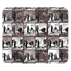 Comic book  Double Sided Flano Blanket (Small)