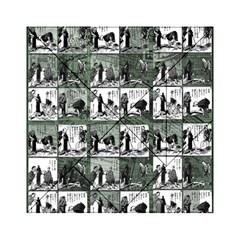 Comic book  Acrylic Tangram Puzzle (6  x 6 )