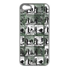 Comic book  Apple iPhone 5 Case (Silver)