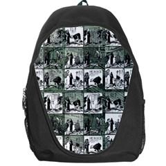 Comic book  Backpack Bag