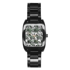 Comic book  Stainless Steel Barrel Watch