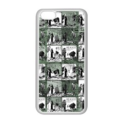 Comic book  Apple iPhone 5C Seamless Case (White)