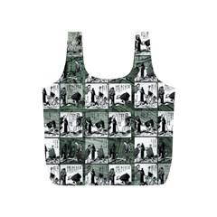 Comic book  Full Print Recycle Bags (S)