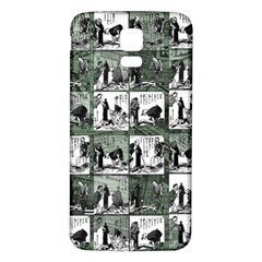 Comic book  Samsung Galaxy S5 Back Case (White)