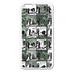 Comic book  Apple iPhone 6 Plus/6S Plus Enamel White Case