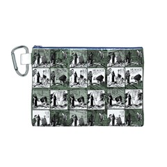 Comic book  Canvas Cosmetic Bag (M)