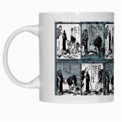Comic book  White Mugs