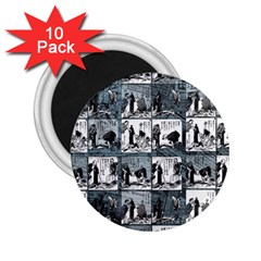 Comic book  2.25  Magnets (10 pack)