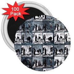 Comic book  3  Magnets (100 pack)