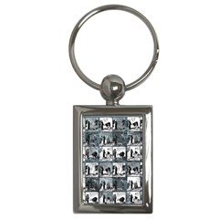 Comic book  Key Chains (Rectangle)