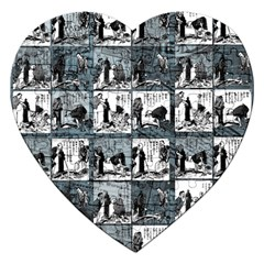 Comic book  Jigsaw Puzzle (Heart)