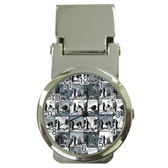 Comic book  Money Clip Watches