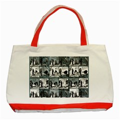 Comic book  Classic Tote Bag (Red)