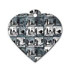 Comic book  Dog Tag Heart (Two Sides)