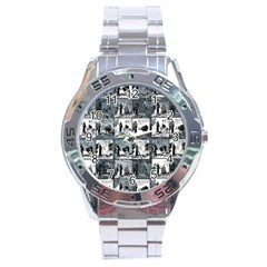 Comic book  Stainless Steel Analogue Watch