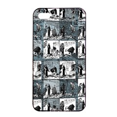 Comic book  Apple iPhone 4/4s Seamless Case (Black)
