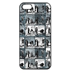 Comic book  Apple iPhone 5 Seamless Case (Black)