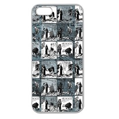 Comic book  Apple Seamless iPhone 5 Case (Clear)