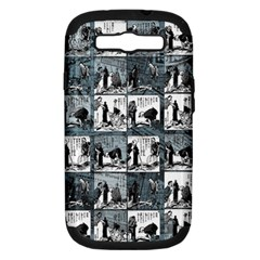Comic book  Samsung Galaxy S III Hardshell Case (PC+Silicone)