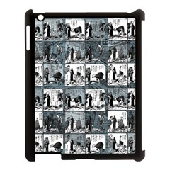 Comic book  Apple iPad 3/4 Case (Black)