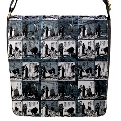 Comic book  Flap Messenger Bag (S)