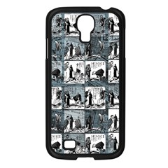 Comic book  Samsung Galaxy S4 I9500/ I9505 Case (Black)