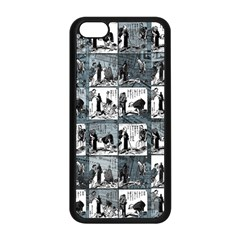 Comic book  Apple iPhone 5C Seamless Case (Black)