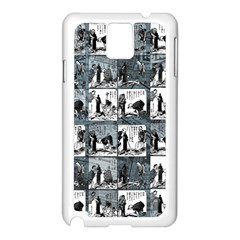 Comic book  Samsung Galaxy Note 3 N9005 Case (White)