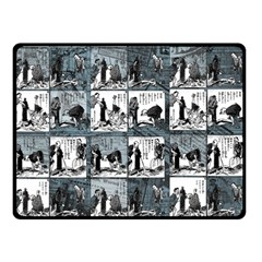 Comic book  Double Sided Fleece Blanket (Small)