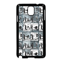 Comic book  Samsung Galaxy Note 3 Neo Hardshell Case (Black)