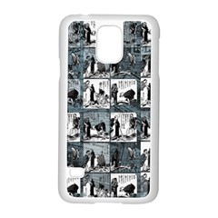 Comic book  Samsung Galaxy S5 Case (White)