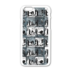 Comic book  Apple iPhone 6/6S White Enamel Case