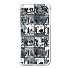 Comic book  Apple iPhone 6 Plus/6S Plus Enamel White Case