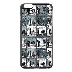 Comic book  Apple iPhone 6 Plus/6S Plus Black Enamel Case
