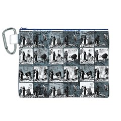Comic book  Canvas Cosmetic Bag (XL)