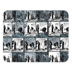 Comic book  Double Sided Flano Blanket (Large)
