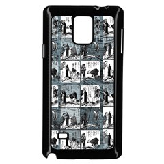 Comic book  Samsung Galaxy Note 4 Case (Black)