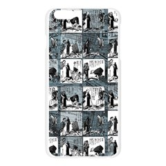 Comic book  Apple Seamless iPhone 6 Plus/6S Plus Case (Transparent)