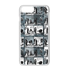 Comic book  Apple iPhone 7 Plus White Seamless Case