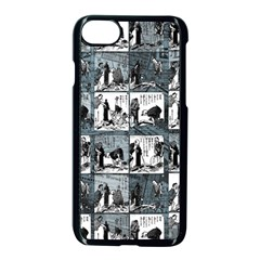 Comic book  Apple iPhone 7 Seamless Case (Black)