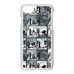 Comic book  Apple iPhone 7 Seamless Case (White)