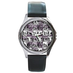 Comic book  Round Metal Watch
