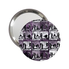 Comic book  2.25  Handbag Mirrors