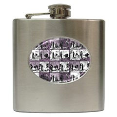 Comic book  Hip Flask (6 oz)